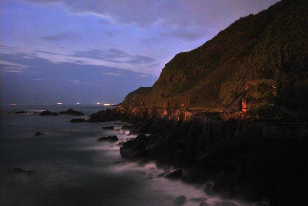 夜照豆腐岬